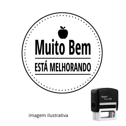 CARIMBO AUTOMÁTICO PARA PROFESSOR – MUITO BEM!